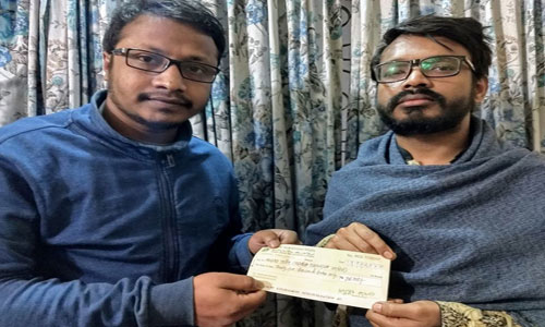 Feni Shaheen Academy donates to Alor Prodeep