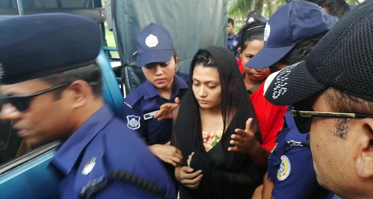 Rifat murder: Minni placed on 5-day remand