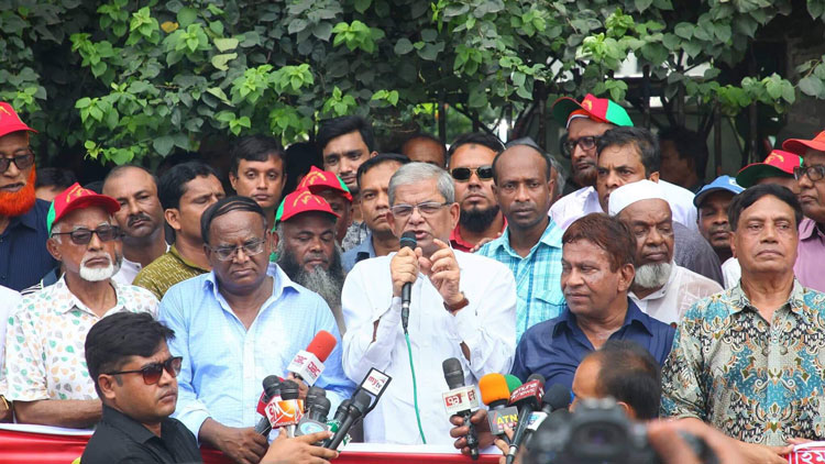 Mirza Fakhrul demands JU VC's removal