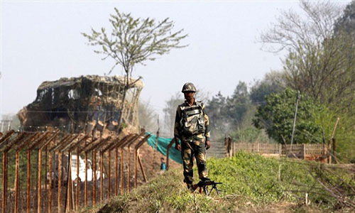 BSF sets up post in zero line of Rajshahi