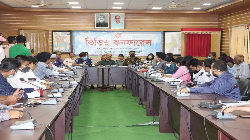 View exchange meeting held in Feni over coronavirus