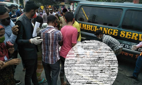 Garment worker killed as covered van hit autorickshaw