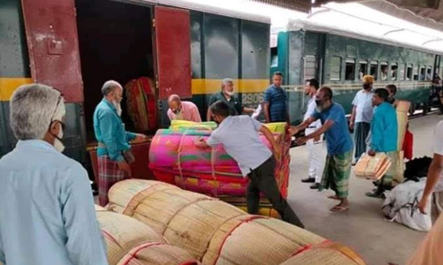 Special parcel train movement on North-South route begins