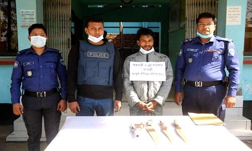 'Terrorist' held with firearm in Noakhali