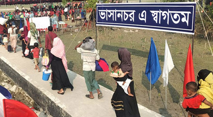35 Rohingyas, flee Bhasan Char, detained in Noakhali