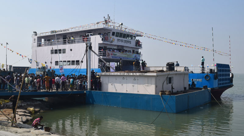 Ferry services on Aricha-Kazirhat route resume after 20yrs
