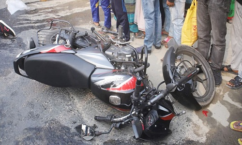 Two killed in Sirajganj road accident