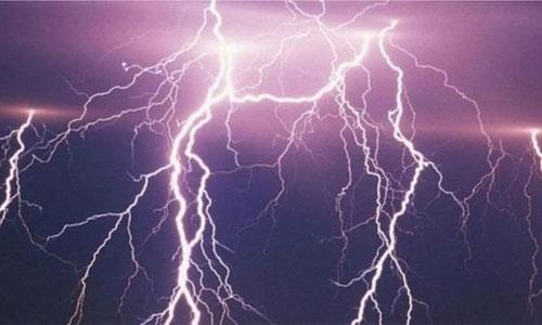Three killed by lightning strikes in Bagmara