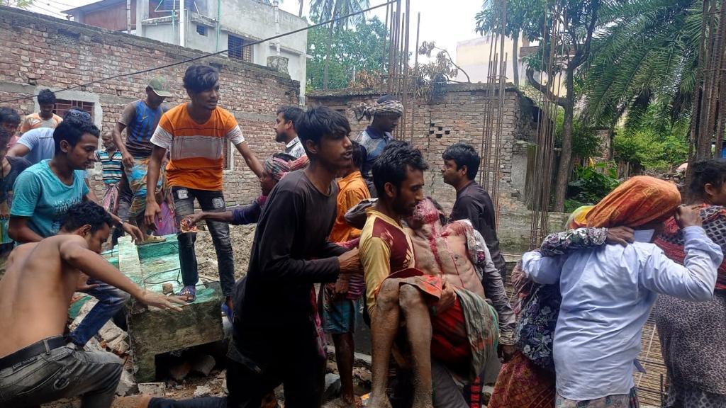 Worker killed in Rajshahi wall collapse