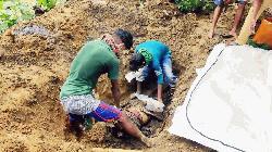 কমলগঞ্জে স্ত্রীর অর্ধগলিত লাশ উদ্ধার, স্বামী আটক