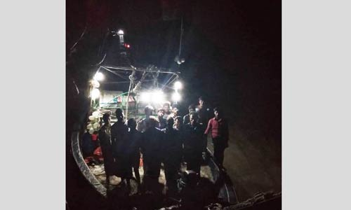 999 call: 15 stranded fishermen rescued from Bay