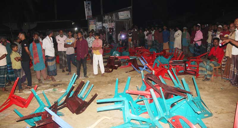 Rebel candidate attacks AL's election rally in M'singh, 10 hurt